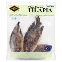 Cape Gourmet Tilapia, Whole Cleaned, 48 Ounce