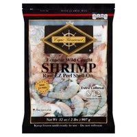 Cape Gourmet Shrimp, Extra Collosal Raw EZ Peel Shell-On, 32 Ounce