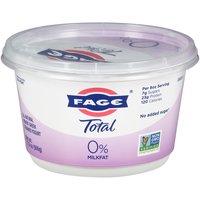 Fage Total 0% Milkfat Greek Strained Yogurt, 17.6 Ounce
