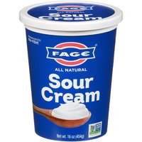 Fage Sour Cream All Natural, 16 Ounce