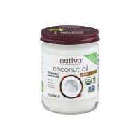 Nutiva Coconut Oil Glass, 15 Fluid ounce