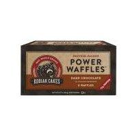 Kodiak Cakes Frozen Power Waffles Dark Chocolate, 10.72 Ounce