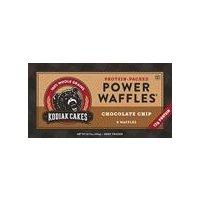 Kodiak Cakes Power Waffles - Chocolate Chip, 10.72 Ounce