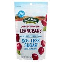 Decas Farms Cranberries Leancrans Dried, 5 Ounce