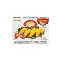 Golden Krust Spicy Beef Patty, 10 Ounce