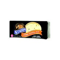 McCadam Pepper Jack Cheese, 8 Ounce
