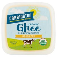 Carrington Farms Organic Ghee Clarified Butter, 12 Fluid ounce