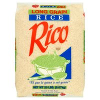 Rico Rice Long Grain Rice, 20 Pound