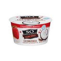 So Delicious Coconut Milk Strawberry Banana Yogurt Alternative, 5.3 Ounce