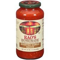 Rao's Homemade Roasted Garlic Gourmet Sauce, 24 Ounce