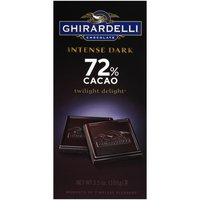 Ghirardelli Chocolate Intense Dark Gourmet Bar - Twilight Delight, 3.5 Ounce
