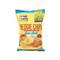 Good Health Natural Products Veggie Crinkle Chips, 6.75 Ounce