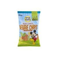 Good Health Natural Products Veggie Chips - Mickey Shaped, 6.75 Ounce