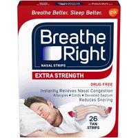 Breathe Right Nasal Strips, 26 Each