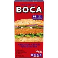 Boca Meatless Patties - Original Chik'n, 10 Ounce