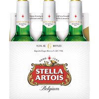 Stella Artois Lager - 6 Pack Bottles, 67.2 Fluid ounce