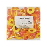 International Foods Peach Rings Candy, 12 Ounce