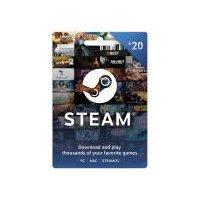 Steam $20 Gift Card, 1 Each
