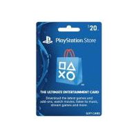 Sony Playstation PS4 $20 Gift Card, 1 Each