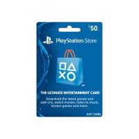 Sony Playstation PS4 $50 Gift Card, 1 Each