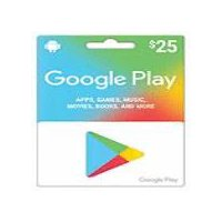 Google Play $25 Gift Cards, 1 Each