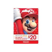 Nintendo Systems eShop $20 Gift Card, 1 Each