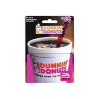 Dunkin' Donuts Big Coffee Cup $25 Gift Card, 1 Each