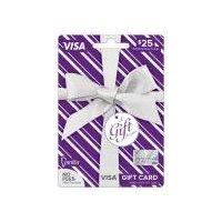 Vanilla Visa Metallic $25 Gift Card, 1 Each