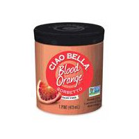 Ciao Bella Sicilian Blood Orange Sorbetto, 14 Fluid ounce