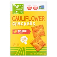 Gluten Free, Made with Vegan Ingredients, Made with Cauliflower