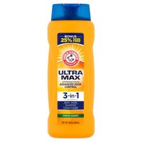 With baking soda for advanced odor control.  (22.5 fl oz)