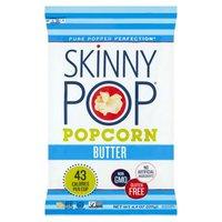 Skinny Pop Real Butter Popcorn, 4.4 Ounce
