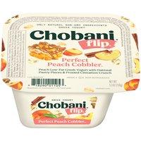 Chobani Flip Yogurt - Perfect Peach Cobbler, 5.3 Ounce