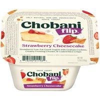 Chobani Chobani Flip Strawberry Cheesecake Low-Fat Greek Yogurt, 5.3 Ounce