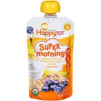 Happy Tot Happy Tot Pouch - Banana, Blueberry, Oats, 4 Ounce