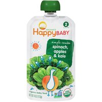 Happy Baby Happy Baby STG 2 Simple Combos - Spinach Apples & Kale, 4 Ounce