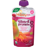 Happy Tot STG 4 Fiber & Protein, 4 Ounce