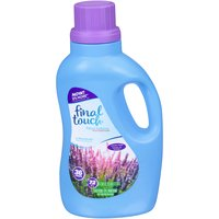 Final Touch Fabric Softener - Lavender, 72 Fluid ounce