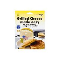 Reusaable toaster grilled cheese bags