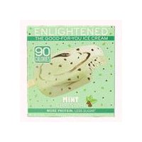 Enlightened Mint Fudge Swirl Ice Cream Bars, 14 Fluid ounce
