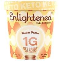 Enlightened Butter Pecan Ice Cream, 1 Each