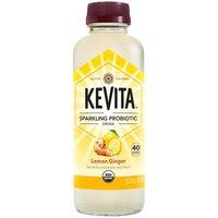 Kevita Sparkling Probotic Drink - Lemon Ginger, 15.2 Fluid ounce