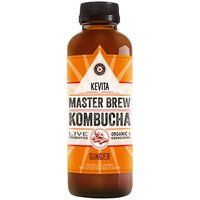 Kevita Master Brew Organic Ginger Kombucha, 15.21 Fluid ounce