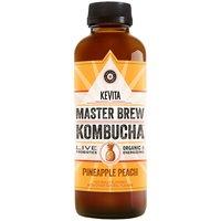 Kevita Master Brew Organic Kombucha - Pineapple Peach, 15.2 Fluid ounce