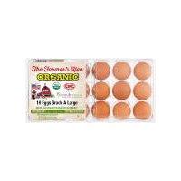 The Farmer's Hen Organic Free Range Grade A Large Eggs, 18 Each