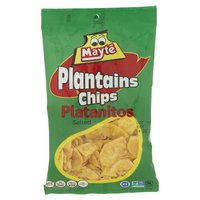 Mayte Plantain Chips - Regular, 3 Ounce