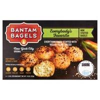 Bantam Bagels Bantam Bagels Classic Everything Bagels, 7.8 Ounce