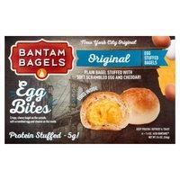 Bantam Bagels Egg Stuffed Bagels Original Egg Bites, 8.4 Ounce