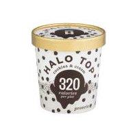 Halo Top Cookies & Cream Ice Cream, 16 Fluid ounce