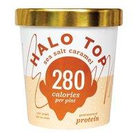 Halo Top Sea Salt Caramel Ice Cream, 16 Fluid ounce